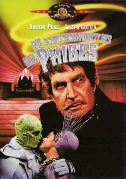 German DVDs - The Abominable Dr Phibes