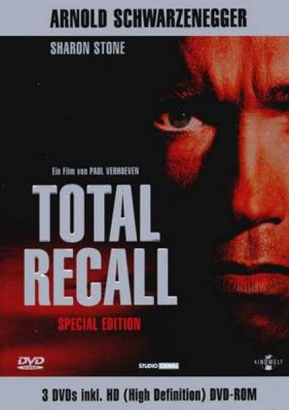 German DVDs - Total Recall Special