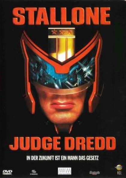 German DVDs - Judge Dredd