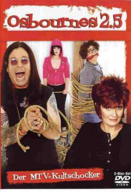 German DVDs - The Osbournes 2.5 Dvd