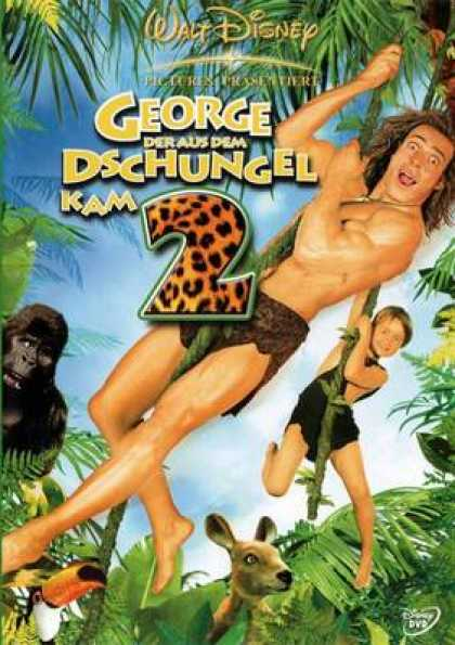 German DVDs - George Of The Jungle 2