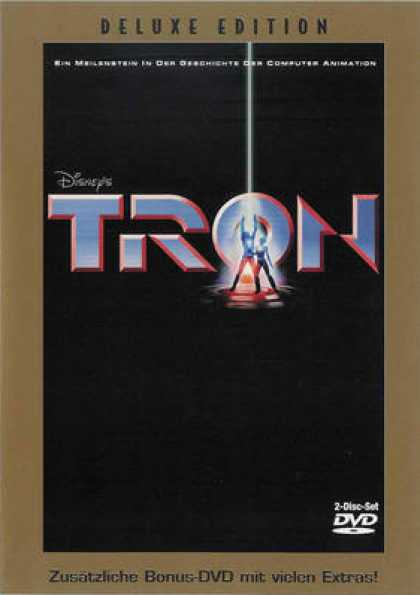 German DVDs - Tron Deluxe
