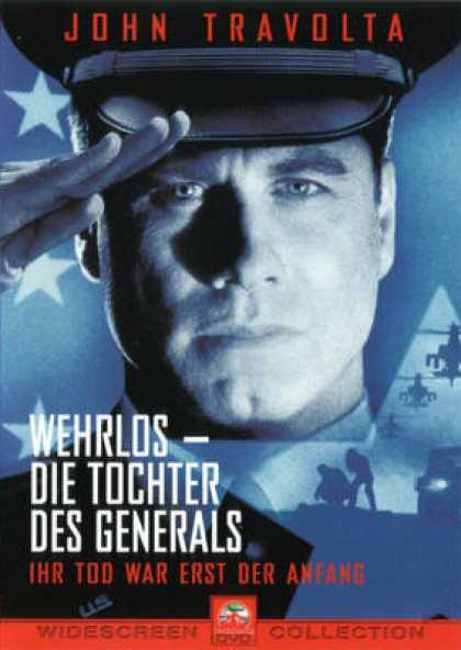 German DVDs - The Generals Daughter