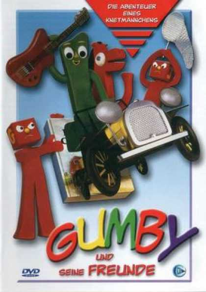 German DVDs - Gumby And Its Friends Gumby And Its Friends