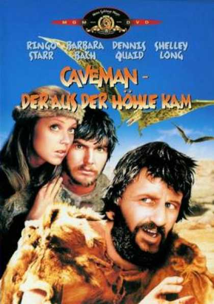 German DVDs - Caveman