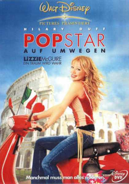 German DVDs - The Lizzie Mcguire Movie