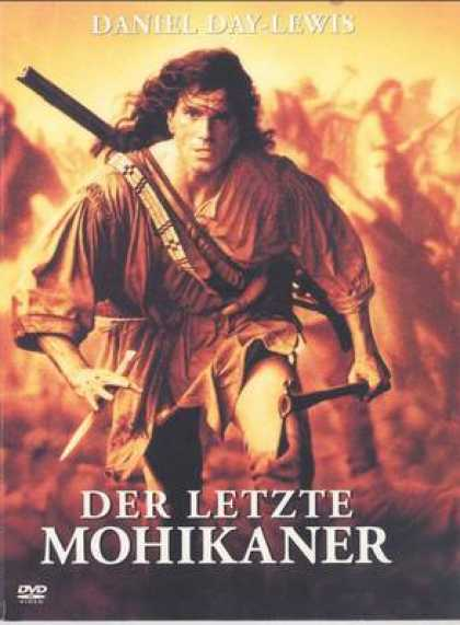 German DVDs - The Last Of The Mohicans