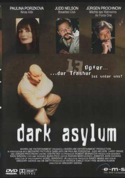 German DVDs - Dark Asylum