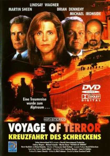 German DVDs - Voyage Of Terror