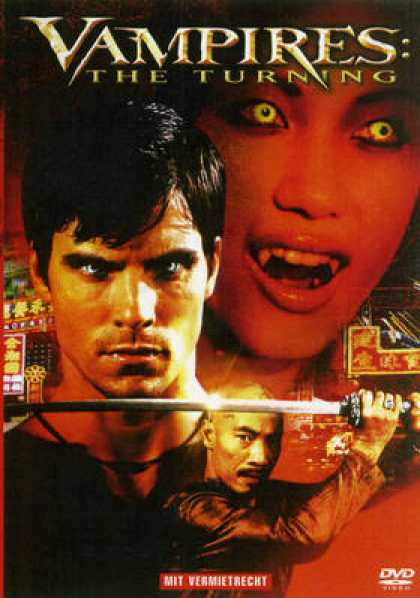 German DVDs - Vampires The Turning