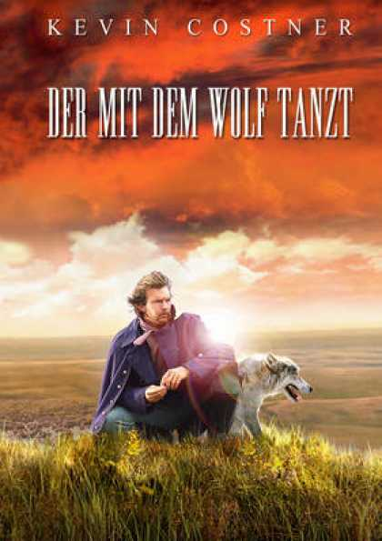 German DVDs - Dances With Wolves