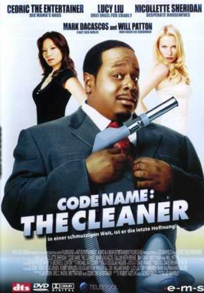 German DVDs - Codename: The Cleaner