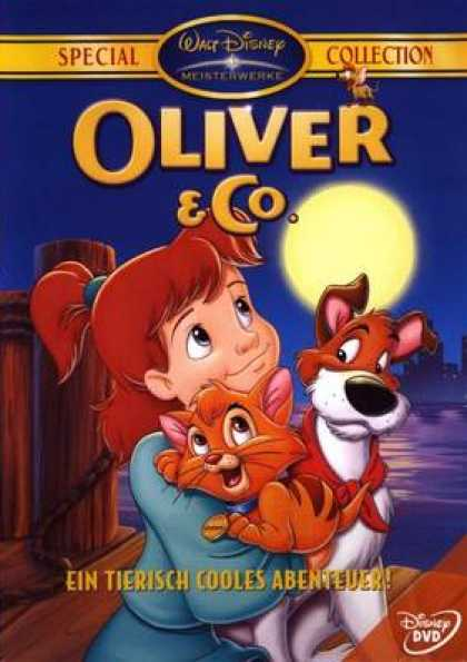 German DVDs - Oliver And Co Special Collection