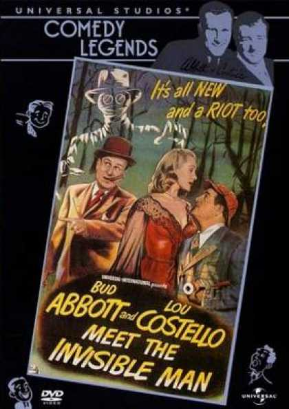 German DVDs - Abbott And Costello Meet The Invisible Man