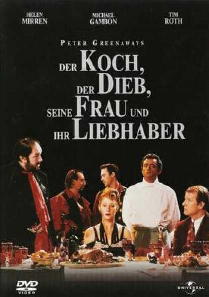German DVDs - The Cook The Thief His Wife And Her Lover