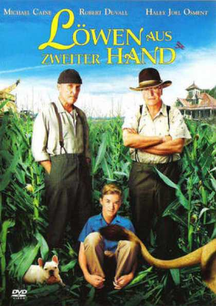 German DVDs - Secondhand Lions