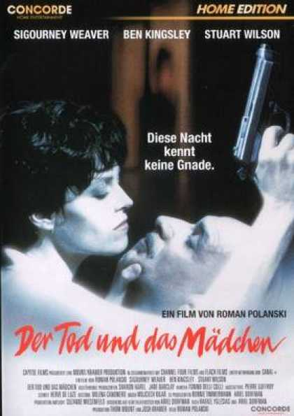 German DVDs - Death And The Maiden