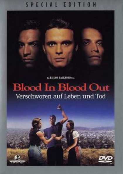 German DVDs - Blood In Bloood Out