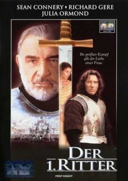 German DVDs - The 1st Knight