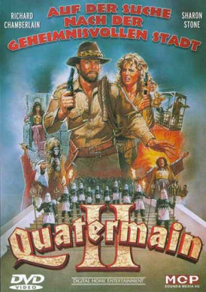German DVDs - Allan Quatermain And The Lost City Of Gold