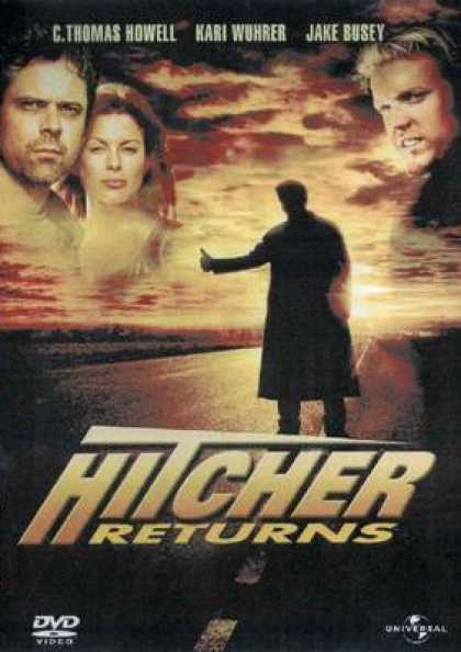 German DVDs - The Hitcher Returns