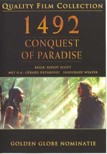 German DVDs - 1492 Conquest Of Paradise