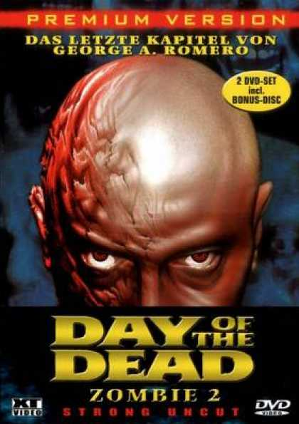 German DVDs - Day Of The Dead Zombie 2 Strong Uncut