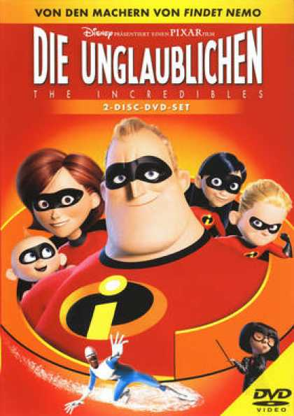German DVDs - The Incredibles 2004