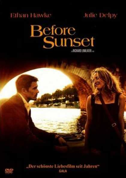 German DVDs - Before Sunset
