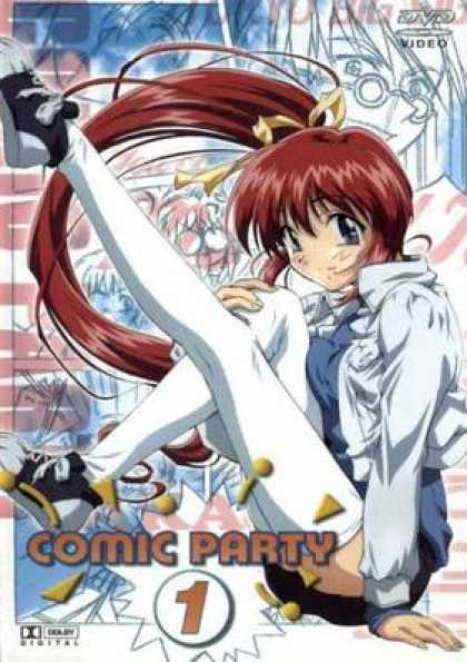 German DVDs - Comic Party 1