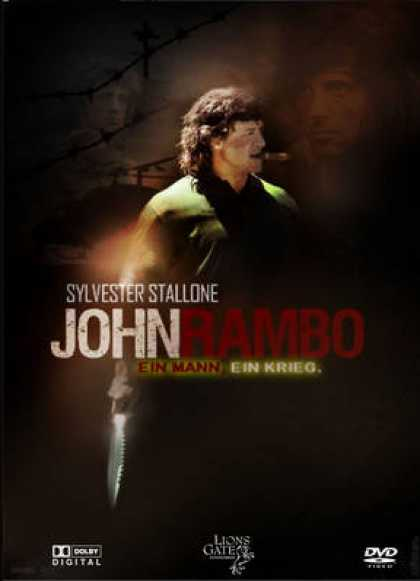 German DVDs - John Rambo