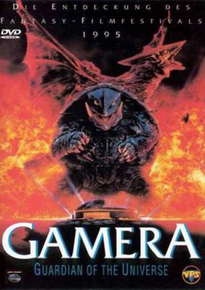 German DVDs - Gamera Guardian Of The Universe