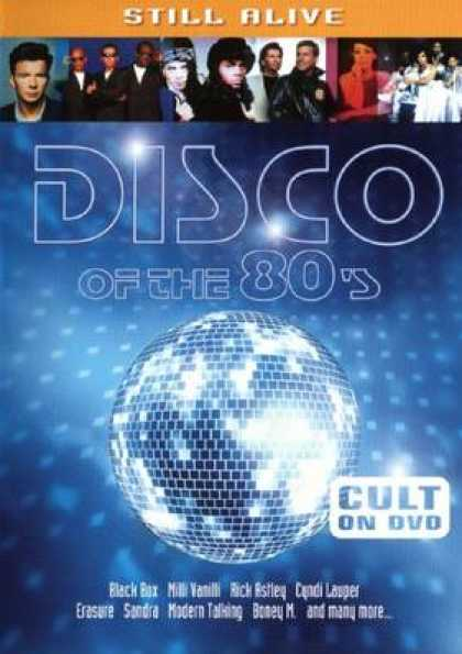 German DVDs - Disco Of The 80s