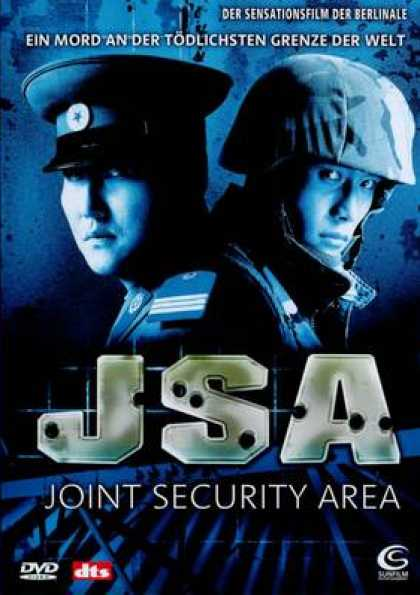 German DVDs - JSA - Joint Security Area
