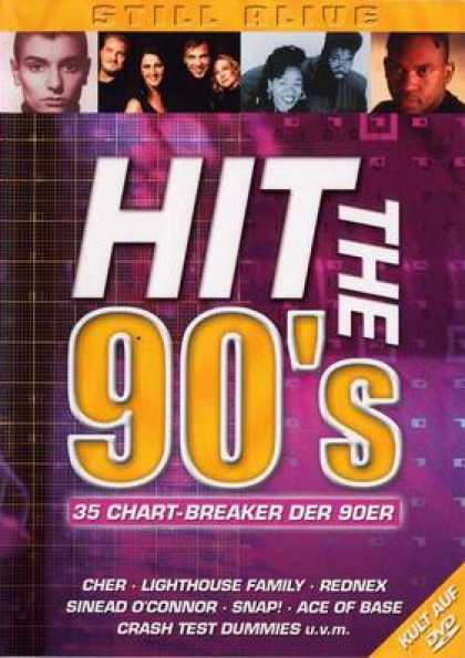German DVDs - Hits The 90s Chart Breakers