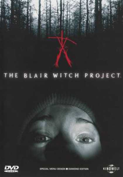 German DVDs - The Blair Whitch Project