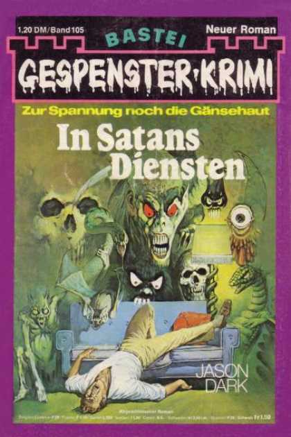Gespenster-Krimi - In Satans Diensten