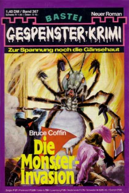 Gespenster-Krimi - Die Monster-Invasion