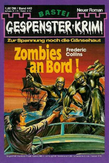 Gespenster-Krimi - Zombies an Bord!