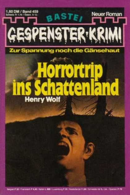 Gespenster-Krimi - Horrortrip ins Schattenland