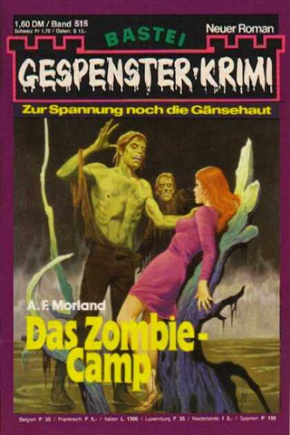 Gespenster-Krimi - Das Zombie-Camp