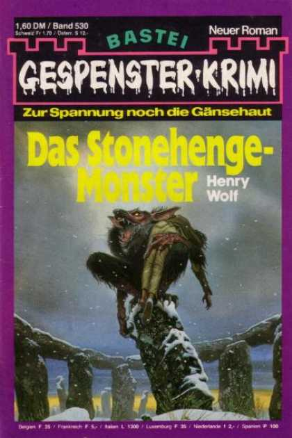Gespenster-Krimi - Das Stonehenge-Monster