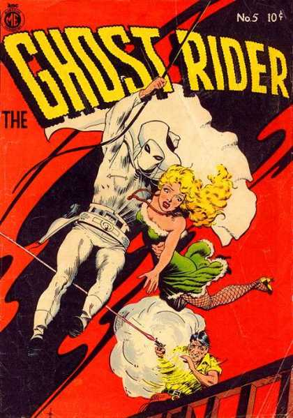 Ghost Rider (1951) 5 - Marvel - Superhero - Western - Sixguns - Blonde