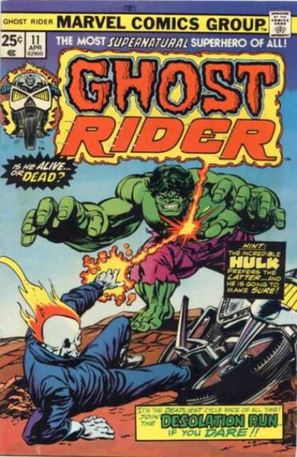 Ghost Rider 11 - Dick Ayers, Klaus Janson