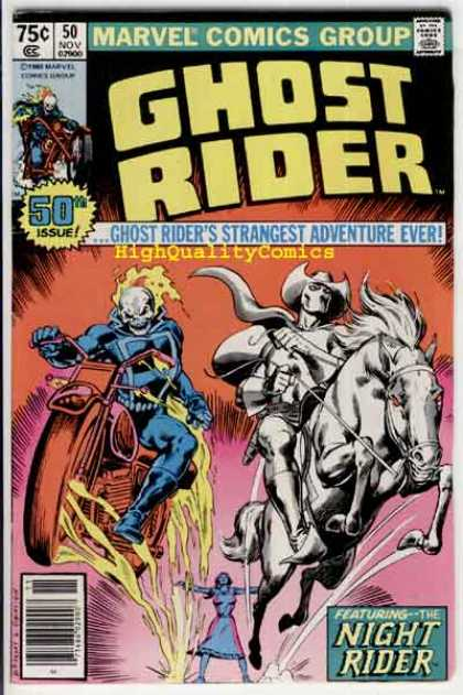 Ghost Rider 50 - Josef Rubinstein, Ron Garney