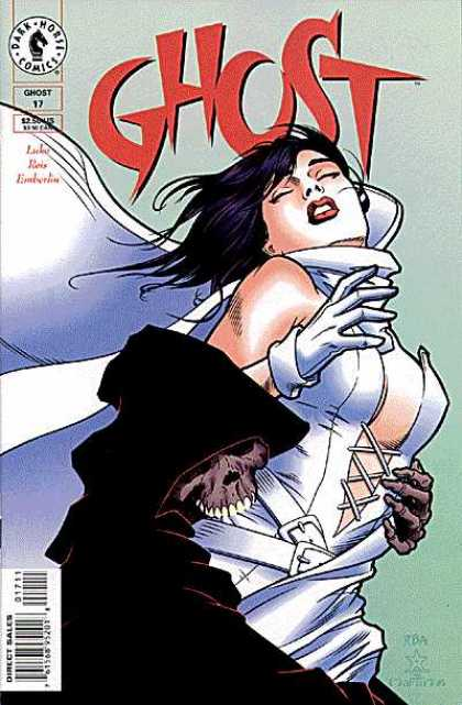 Ghost 17 - Reaper - Bite - Dying Girl - Black Cape - White Dress - Jason Pearson
