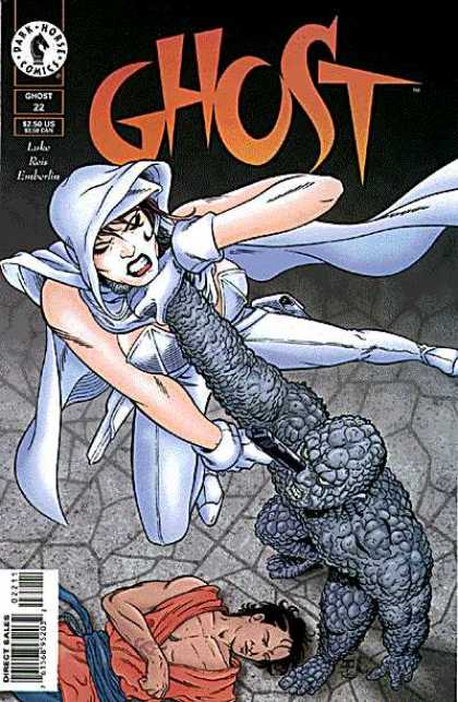 Ghost 22 - Choke - Women - Gun - White Outfit - Man - John Cassaday