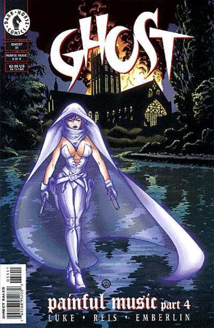 Ghost 31 - Female - Cape - Mansion - Fire - Water - Dave Stewart