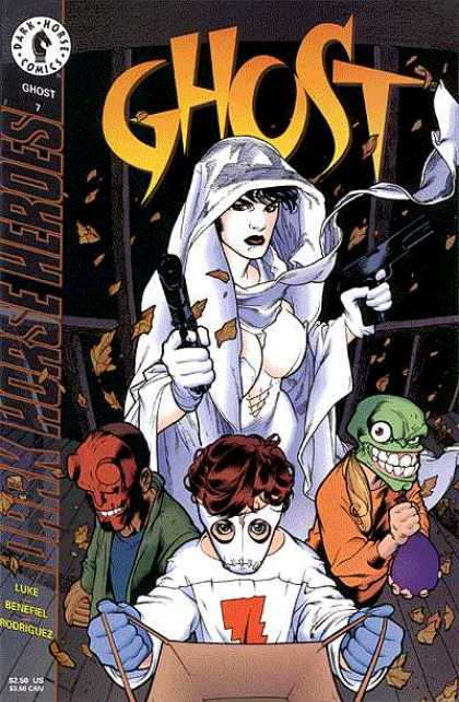 Ghost 7 - Guns - Trick Or Treat - Hellboy - Dark Horse Heroes - Children - Adam Hughes, Jason Pearson