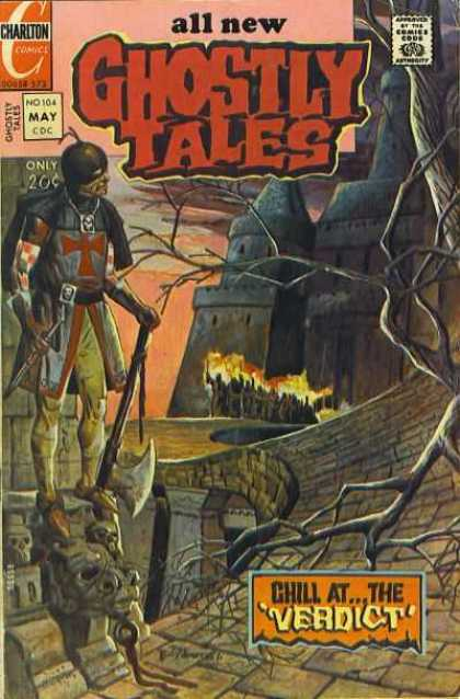 Ghostly Tales 104 - Castle - Chill At The Verdict - Bridge - Tree - Torches